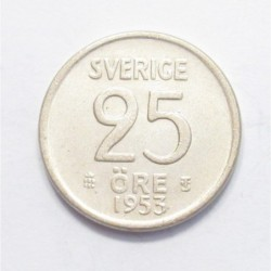25 öre 1953