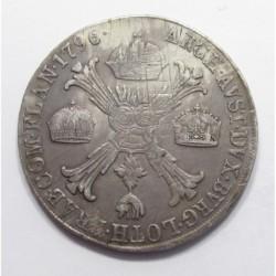 Franz II. 1 crownthaler 1796 M