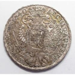 Charles VI. 1 thaler 1740 KB
