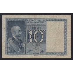 10 lire 1939