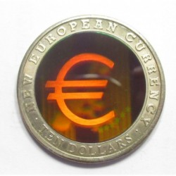 10 dollars 2003 - The new European currency