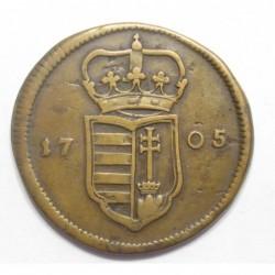 Rákóczi Ferenc II. XX poltura 1705