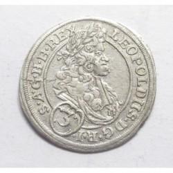 Leopold I. 3 kreuzer 1695 MMW - Silesia