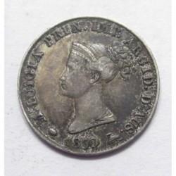 5 soldi 1830 Maria Luigia - Parma