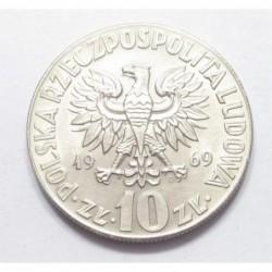 10 zlotych 1969