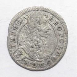 Leopold I. 3 kreuzer 1703 GE - Prague