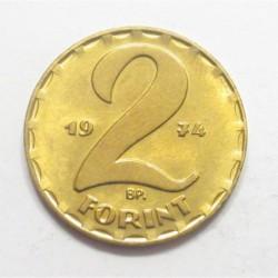 2 forint 1974