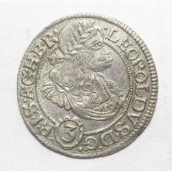 Leopold I. 3 kreuzer 1670 SHS - Breslau
