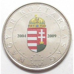 Colored 50 forint 2004 - Hungary in the EU