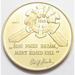 100 forint 1998 - Revolution of 1848-49