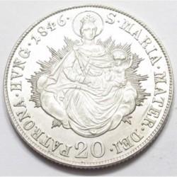 Ferdinand I 20 kreuzer 1846 B