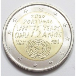 2 euro 2020 - 75th anniversary of United Nations