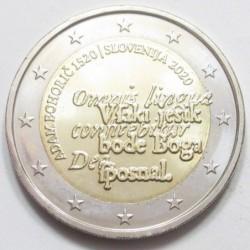 2 euro 2020 - the 500th anniversary of the birth of Adam Bohoriè