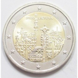 2 euro 2020 - Hill of Crosses