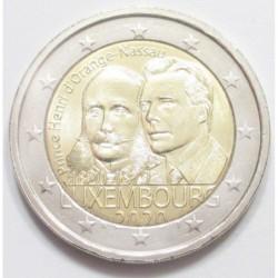2 euro 2020 - birth of prince Charles Jean Phillipe