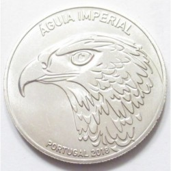 5 euro 2018 - endangered fauna species series - the imperial eagle