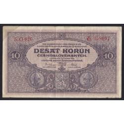 10 korun 1927 série O