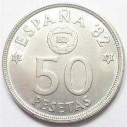 50 pesetas 1981 - FIFA World Cup 1982
