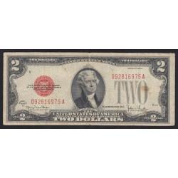 2 dollars 1928