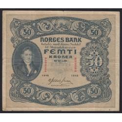 50 kroner 1940