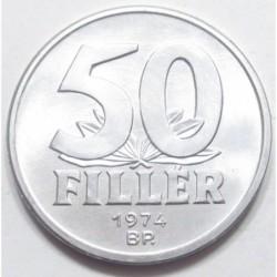 50 fillér 1974