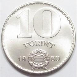 10 forint 1980