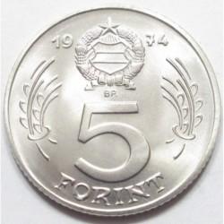 5 forint 1974