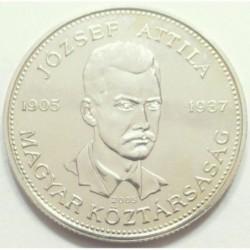 10 forint 2005 - József Attila