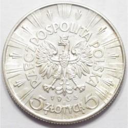 5 zlotych 1935
