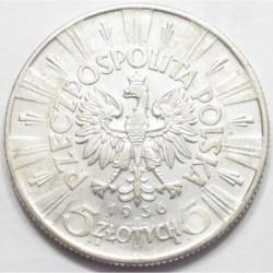 5 zlotych 1936