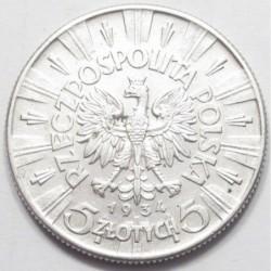 5 zlotych 1934