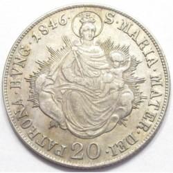 20 kreuzer 1846 B