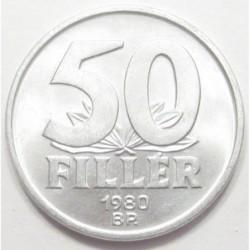50 fillér 1980