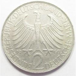 2 mark 1960 D - Max Planck