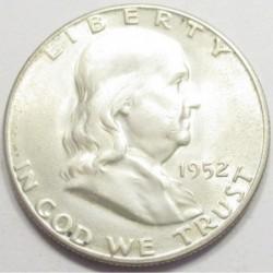 Franklin half dollar 1952 S