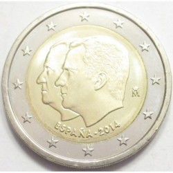 2 euro 2014 - Accesion to Spanish Throne