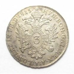 Franz II. 3 kreuzer 1815 B