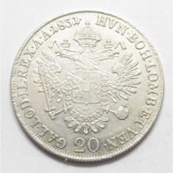 Franz II. 20 kreuzer 1831 A