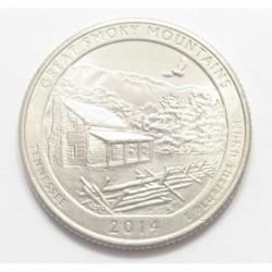 quarter dollar 2014 P - Great Smoky Mountains