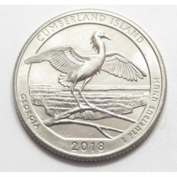 quarter dollar 2014 D - Cumberland Island