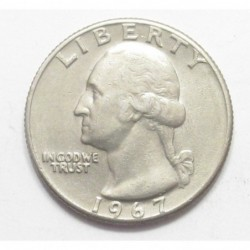 quarter dollar 1967