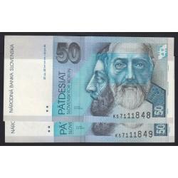 50 korun 2005 2x
