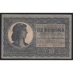 10 korona 1919 M széria