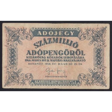 100.000.000 adópengõ 1946