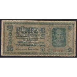 50 karbowanez 1942