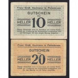 10-20 heller 1920 - Franz Gross- Pottenbrunn