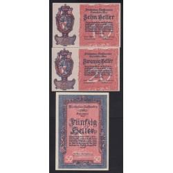 10-20-50 heller 1920 - Liechtenstein