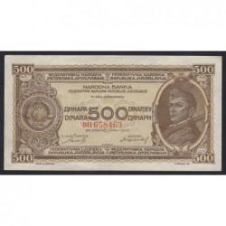 500 dinara 1946