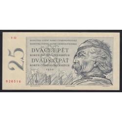 25 korun 1958