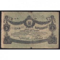 3 karbovantsi 1918 - Ukraine and Crimea